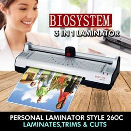 Biosystem Laminator Style 260C A4 size