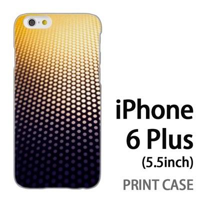 iPhone6 Plus (5.5インチ) 用『No4 ドットグラデーション』特殊印刷ケース【 iphone6 plus iphone アイフォン アイフォン6 プラス au docomo softbank Apple ケース プリント カバー スマホケース スマホカバー 】の画像