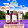 JAPAN No.1 [Non-Silicone] MVNE Smart Organics SHAMPOO/CONDITIONER/TREATMENT/BODY SOAP with Elegant and fruity aroma of beauty berry mix