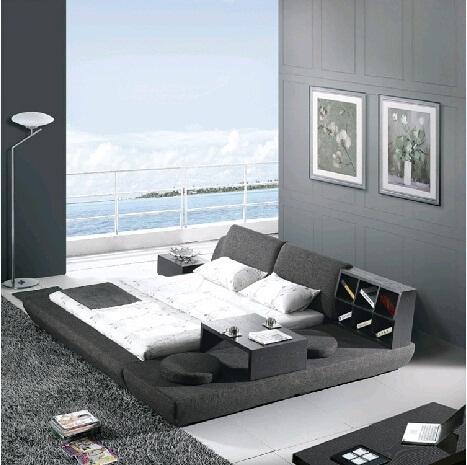 qoo10 - tatami style modern platform bed : furniture & deco