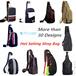 Canvas sling bag/Nylon Sling Bag/Mens bag/Messenger Bag/Student Bag/Casual Bag/Sling Bag/Backpack
