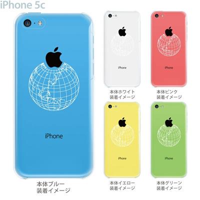 【iPhone5c】【iPhone5cケース】【iPhone5cカバー】【クリア ケース】【iPhone カバー】【スマホケース】【クリアケース】【イラスト】【クリアーアーツ】【地球】 10-ip5cp-ca008の画像