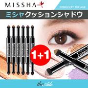 [MISSHA/ミシャ] 1+1 デュアル ブレンディング クッション シャドウ Dual Blending Cushion Shadow