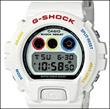 Overseas CASIO overseas Casio watch DW-6900MT-7ER Men's G-SHOCK G shock MEDICOM TOY collaboration model