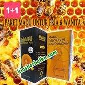 [ 1+1 ]  Paket Madu Kesuburan untuk Pria dan Wanita