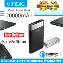 Vinsic Power Bank 20000mAh QC 3.0 Terminator P3 /  IRON P6 / Alien P2 Powerbank for Universal Use