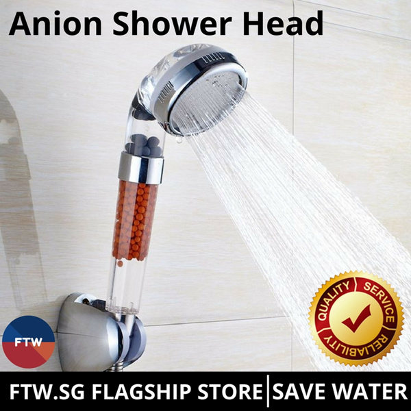 Anion Filter Shower Head Deals for only S$19.9 instead of S$0