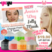 ANNIES WAY Jelly Tub Mask ❤ 7 TYPES ❤ Suitable for all skin types ❤ 250ML
