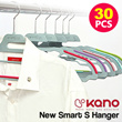 [In Singapore] The new Smart Nonslip Dress Hanger 30pcs / home / household / KANO
