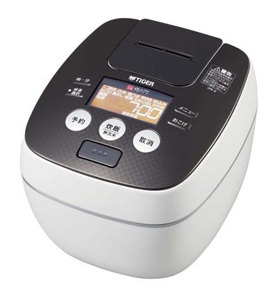 タイガー炊飯器5.5合圧力IHクールホワイト炊きたて炊飯ジャーJPB-G101-WATiger