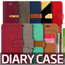 Diary / Card Case★NEW Galaxy S8/Plus/S7/Edge/S6/Note5/4/3/A5/A7/2017/J7 Prime/iPhone7/Plus/6S/5S/SE
