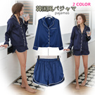 sj276 Summer new /stylenand* fashion personality shirt + suit / shorts / pajamas/2 color