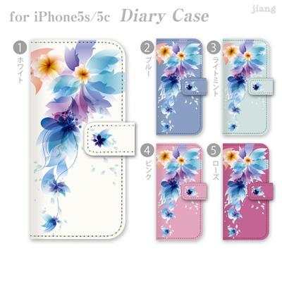 iPhone6 4.7inch ダイアリーケース 手帳型 ケース カバー スマホケース ジアン jiang かわいい おしゃれ きれい レトロフラワー 06-ip6-ds0106の画像