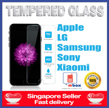 [CLEARANCE SALE UPTO 90% Off!]★Tempered Glass Protector ★iPhone★ Samsung★ Xiaomi★ Oppo★Sony★
