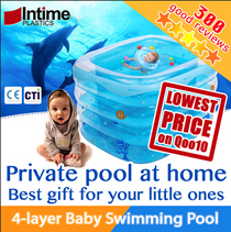 ✿Inflatable Baby Swimming Pool SPA✿ Environmental friendly / 4 layers / Rubber toys / Color balls  / Suitable for newborn