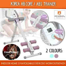 [Free cooling towel ]Korea Ab.Core / Abs Trainer / Indoor Home Gym Foldable Exercise Workout Bench