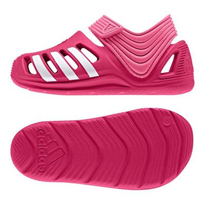 アディダス (adidas) ジュニア Zサンダル I(ビビッドベリー×ランニングホワイト×セミソーラーピンク) B40352 [分類:ベビー服 ベビーシューズ]の画像