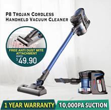【CNY FREE MITE PROMO!!】Minihelpers Trojan SGP8 10000Pa   Cordless Handheld Vacuum  Flagship Model❗