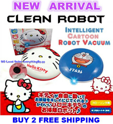 【LATEST】Japanese Sanrio Disney Sweeper Robot Cleaner ♥2017 Latest Hot Product♥ Buy 2 Free Shipping