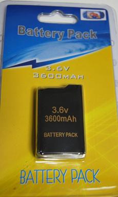 PSP1000専用 大容量互換予備 バッテリー 3.6V 3600mAh