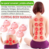 [FREE SHIPPING]Silicon Body Puller/Cupping Body Massage 10 pcs for a set/Detox/Beauty/Reduce Pressure