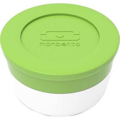 マキノトレーディング monbento(モンベント) ソースカップ M グリーン 【日用品 弁当・水筒 お弁当小物 調味料容器 弁当用】の画像