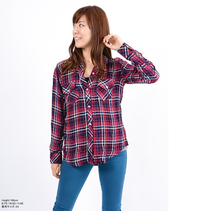 Rails レイルズ 正規品 チェックシャツの画像