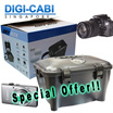 DIGICABI DRY BOX WITH HUMIDITY METER + SILICA GEL FOR CAMERA INSTRUMENTS