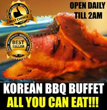 [KOREAN BBQ BUFFET] LATE NIGHT OPEN Till  2AM Daily