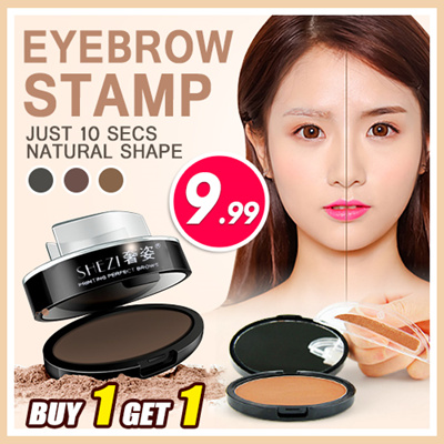 Buy 1 Free 1Latest Trend 2017 Eyebrow Stamp GET NATURAL PERFECT EYEBROWS SHAPE In 10 Seconds