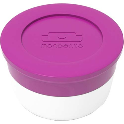 マキノトレーディング monbento(モンベント) ソースカップ M フューシャ 【日用品 弁当・水筒 お弁当小物 調味料容器 弁当用】の画像