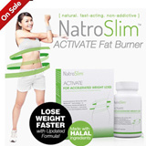 NatroSlim ACTIVATE Fat Burner ♥Feel it in 30 mins Results in 2 days!♥ Effective Weight Loss Formula Slimming Diet with Garcinia cambogia