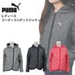 PUMA LADYS アウター 903020 プーマ レディース フーデッド パデッド ジャケット