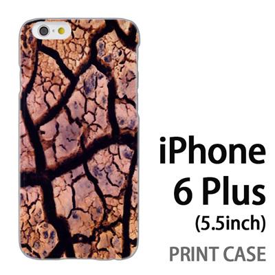 iPhone6 Plus (5.5インチ) 用『No4 ひび割れ』特殊印刷ケース【 iphone6 plus iphone アイフォン アイフォン6 プラス au docomo softbank Apple ケース プリント カバー スマホケース スマホカバー 】の画像