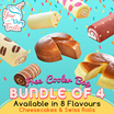 [Your Very Treatz ]  Choose Of  4 out  (6 Flavours of swiss Roll Or 2 Flavours of Chesscake) $19.90 Only Free Delivery