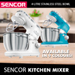 SENCOR Food mixer / Available in 9 Colours!