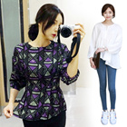 ♣ New Arrival 2015 Woman Fahsion Blouse / Shirt ♣ Cotton/lace/chiffon/printing/check