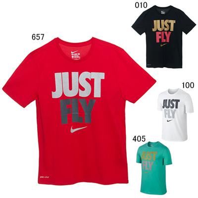 ナイキ (NIKE) JUST FLY S/S  Tシャツ 659587 [分類:バスケットボール プラクティスシャツ]の画像