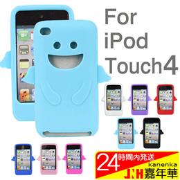 ケース カバー iPod touch4ケースカバー アイボッドタッチ 天使エンジェルケース angel シリコンケース ソフトケース