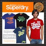 SUPER DRY Mens Famous tee collection/men shirt/ tshirt/ hollister/