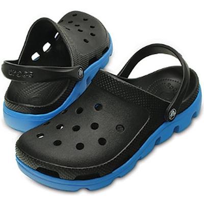 クロックス(crocs) デュエット スポーツクロッグ CR11991 07U ブラック/オーシャン 【正規品 サンダル 靴 メンズ】の画像
