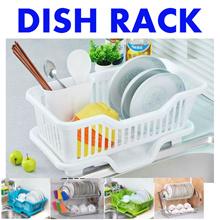 [SG Seller] Slim Dish Rack / Kitchen Utensil Holder / Cutlery Holder / Sink Area Organizer