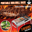 [Must Buy] Portable BBQ Grill Rack / Large Medium Small Size/ Portable Barbecue BBQ Rack