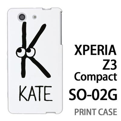XPERIA Z3 Compact SO-02G 用『0623 「K」』特殊印刷ケース【 xperia z3 compact so-02g so02g SO02G xperiaz3 エクスペリア エクスペリアz3 コンパクト docomo ケース プリント カバー スマホケース スマホカバー】の画像