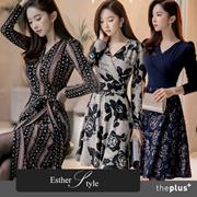 ♥♥韓国ECサイト大ヒット! 2017新作♥♥100%韓国製作/プレミアムドレス ★体型カバーになる★ プレミアムワンピース