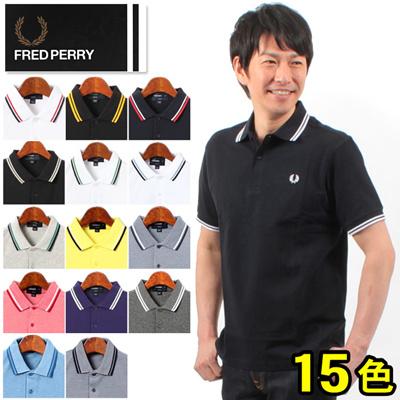 FREDPERRY フレッドペリー スリムフィット ツイン チップド ポロシャツ M3600 メンズ(男性用)の画像