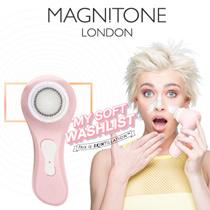 [London MAGNITONE] イギリス名品振動クレンザー / 毛穴 すっきり 毛穴汚れ 毛穴ケア やわらか 極細毛 洗顔 ブラシ 毛穴+角質ケア! 軟らかく角質をクレンジング!