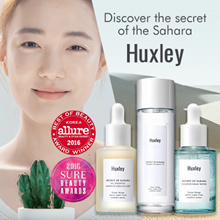 🌵5 STARS REVIEWS !!!!! NEVER REGRET!!🌵HUXLEY🌵DISCOVER THE SECRET OF THE SAHARA❤TONER/OIL ESSENCE/CREAM/CLEANSING WATER❤COCOMO EXCLUSIVE❤HYDRATION❤CACTUS EXTRACT❤MADE IN KOREA❤
