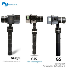 Feiyu Gimbal for GoPro and Action Cameras [G4S][G4 QD][G5]