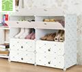 Shoe Cabinet Modular Cube Storage System Rack Shelf Wardrobe Box Storage Shoe Rack